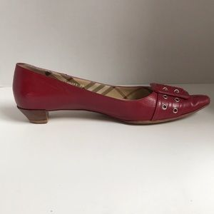 Burberry Red Pointed heels size 39 / US 9